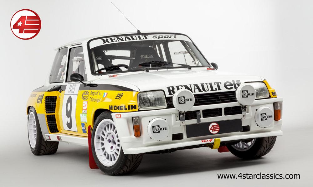 1983 Renault 5 Turbo 2 'Tour de Corse' /// RHD For Sale (picture 2 of 12)