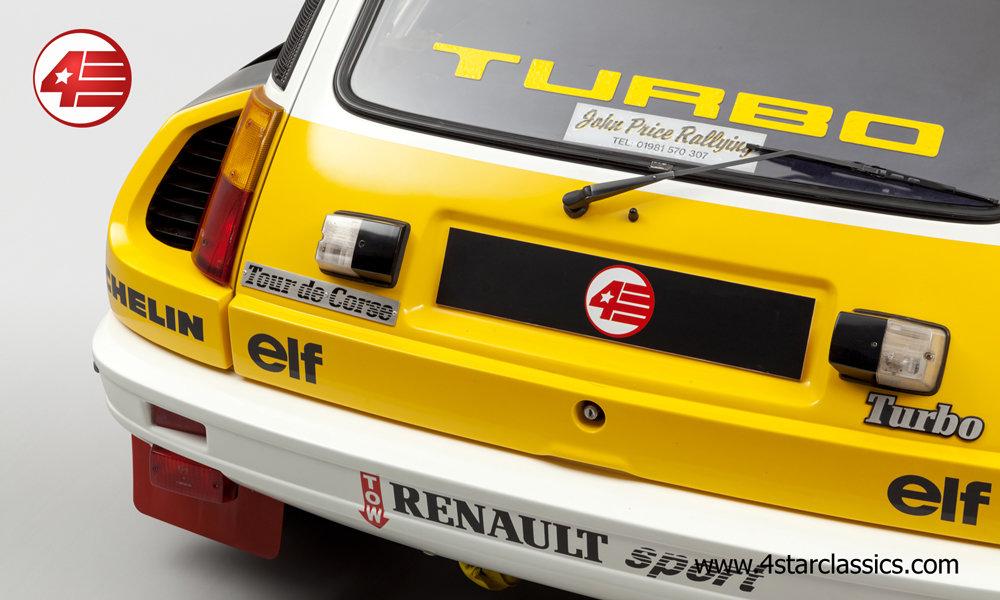 1983 Renault 5 Turbo 2 'Tour de Corse' /// RHD For Sale (picture 5 of 12)