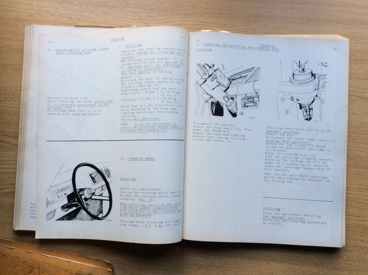 Workshop Manual for Renault 8 (R.1130) For Sale (picture 4 of 7)