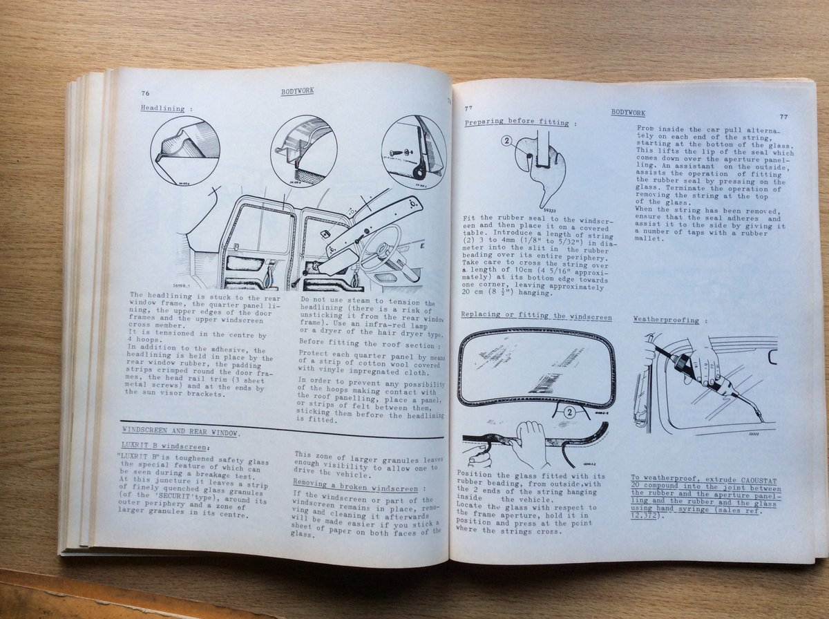 Workshop Manual for Renault 8 (R.1130) For Sale (picture 6 of 7)