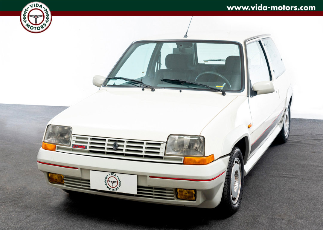 1987 Renault 5 Gt Turbo *TOP CONDITIONS * ONE OWNER * FIRST PAINT For Sale (picture 1 of 12)