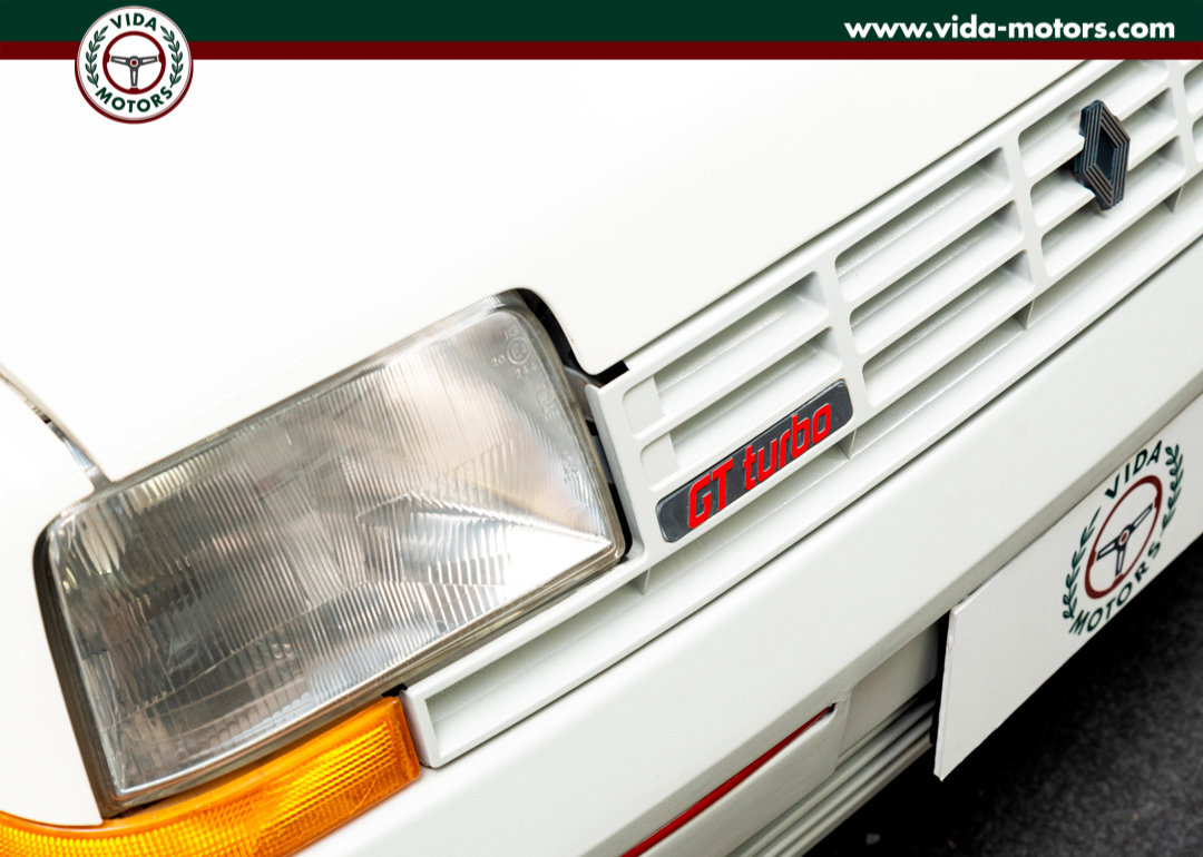 1987 Renault 5 Gt Turbo *TOP CONDITIONS * ONE OWNER * FIRST PAINT For Sale (picture 2 of 12)