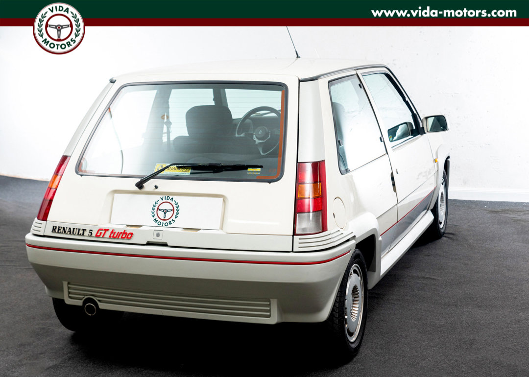 1987 Renault 5 Gt Turbo *TOP CONDITIONS * ONE OWNER * FIRST PAINT For Sale (picture 7 of 12)