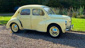 Picture of Renault 4CV.  Early 1950.  Ex Holland museum restored. For Sale