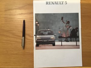 Picture of Renault 5 brochure all models 1989 For Sale