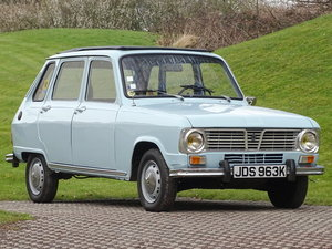 Picture of 1972 Renault 6 TL For Sale by Auction