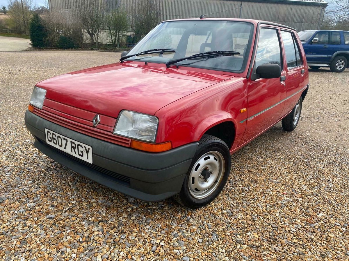 A Charmingly Beautiful 1989 Renault 5 Campus, 68,000 Miles For Sale (picture 1 of 10)