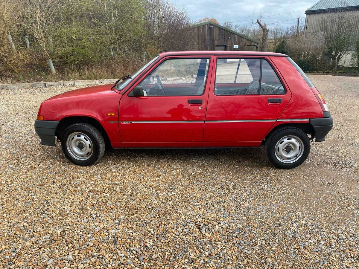 A Charmingly Beautiful 1989 Renault 5 Campus, 68,000 Miles For Sale (picture 3 of 10)