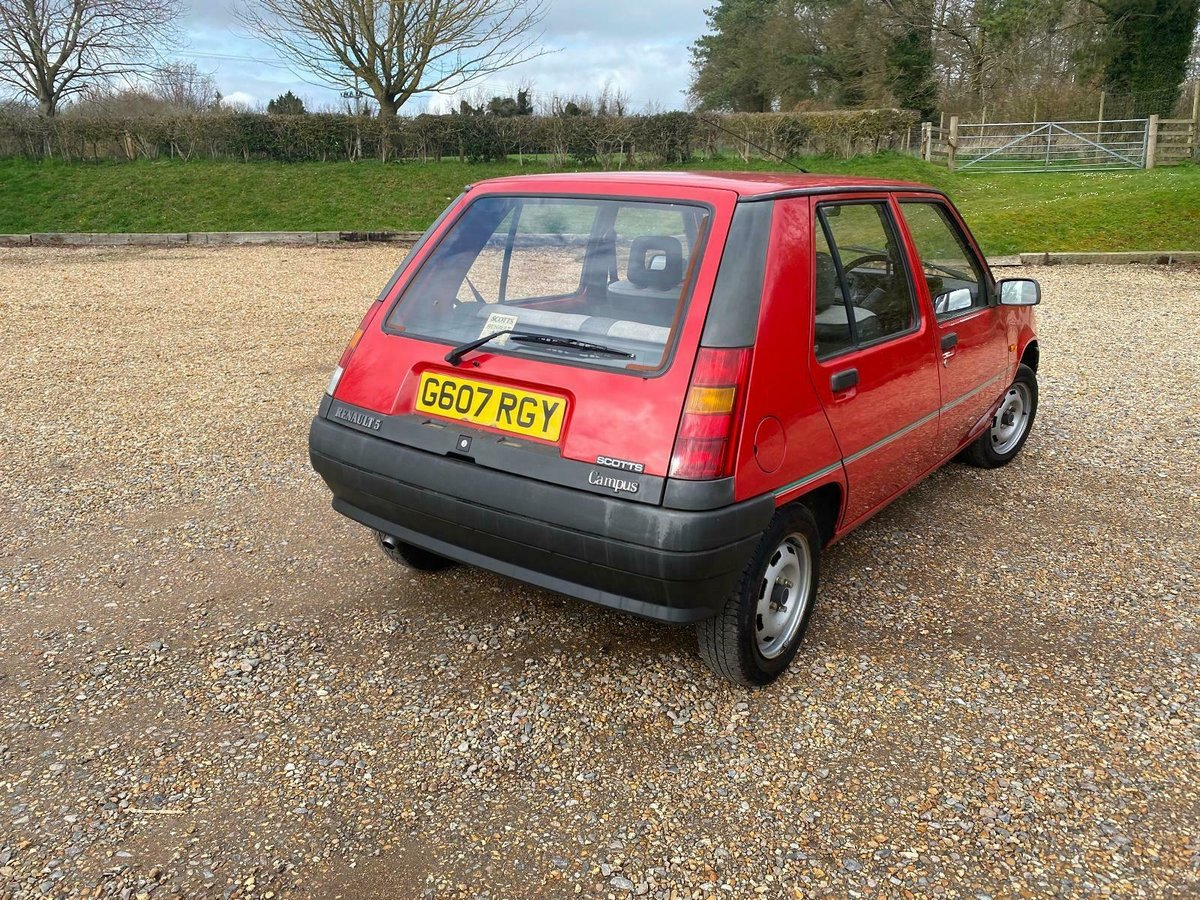 A Charmingly Beautiful 1989 Renault 5 Campus, 68,000 Miles For Sale (picture 5 of 10)