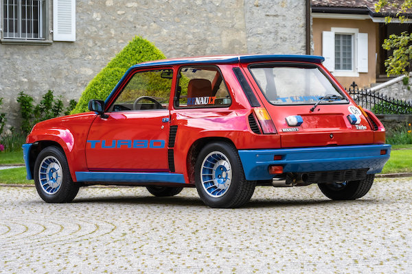 1983 Renault 5 Turbo Lot 109 For Sale by Auction (picture 40 of 44)