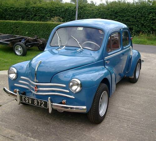 Renault Cars: 1956 4CV LHD SOLD