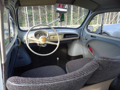 1956 Renault 4CV, very nice private car. In perfect condition For Sale (picture 3 of 6)