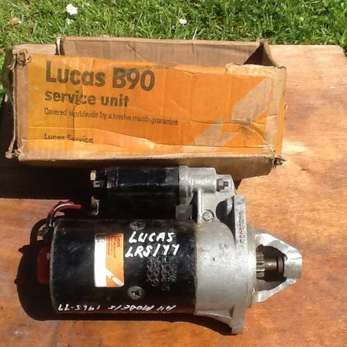 1966 New Lucas B90 Starter Motor for  Renault 16 Models For Sale (picture 1 of 3)