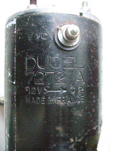 Generator DUCEL 7272A 12 Volt for Renault For Sale (picture 2 of 3)