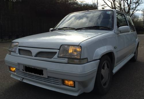 1991 RENAULT 5 GT TURBO – only 94k - 190BHP 19PSi For Sale (picture 1 of 6)
