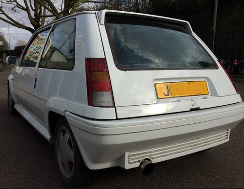 1991 RENAULT 5 GT TURBO – only 94k - 190BHP 19PSi For Sale (picture 4 of 6)