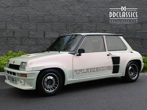 1984 Renault 5 Turbo 2 LHD SOLD (picture 1 of 6)