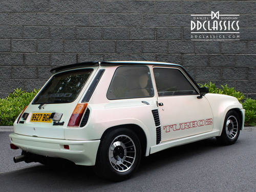 1984 Renault 5 Turbo 2 LHD SOLD (picture 2 of 6)