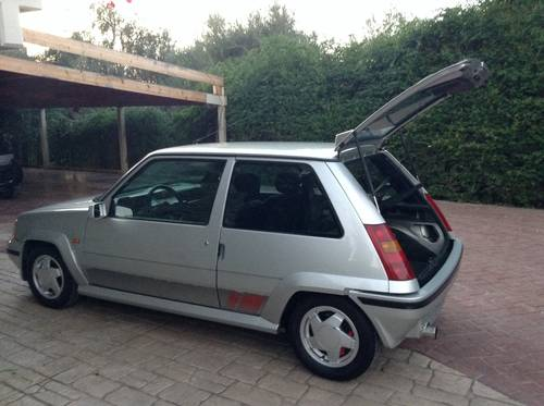 1998 Renault 5 gt turbo  120 ps 1988 For Sale (picture 5 of 6)