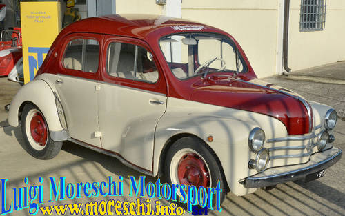 1956 Renault 4CV Sport, version Mille Miglia SOLD (picture 1 of 6)