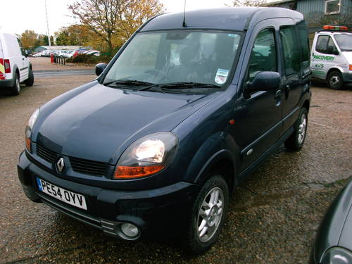 2004 Renault Kangoo 4x4 1.9 Diesel  5 speed manual For Sale (picture 1 of 6)