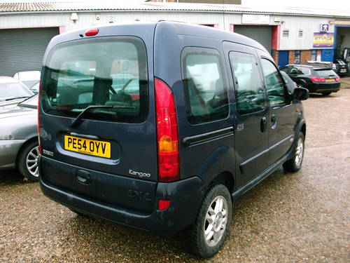 2004 Renault Kangoo 4x4 1.9 Diesel  5 speed manual For Sale (picture 2 of 6)