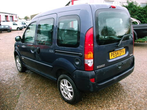 2004 Renault Kangoo 4x4 1.9 Diesel  5 speed manual For Sale (picture 5 of 6)