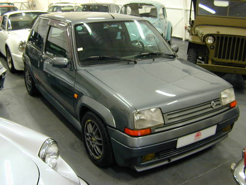 1990 RENAULT 5 GT 1.4 TURBO - LHD - TIME WARP CAR!  For Sale (picture 1 of 6)