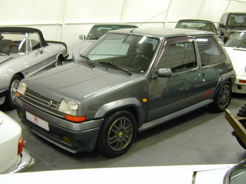 1990 RENAULT 5 GT 1.4 TURBO - LHD - TIME WARP CAR!  For Sale (picture 2 of 6)