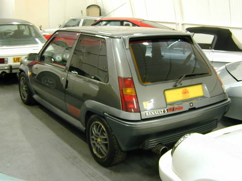 1990 RENAULT 5 GT 1.4 TURBO - LHD - TIME WARP CAR!  For Sale (picture 3 of 6)