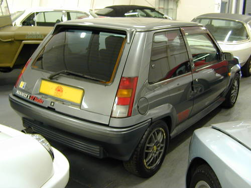 1990 RENAULT 5 GT 1.4 TURBO - LHD - TIME WARP CAR!  For Sale (picture 4 of 6)