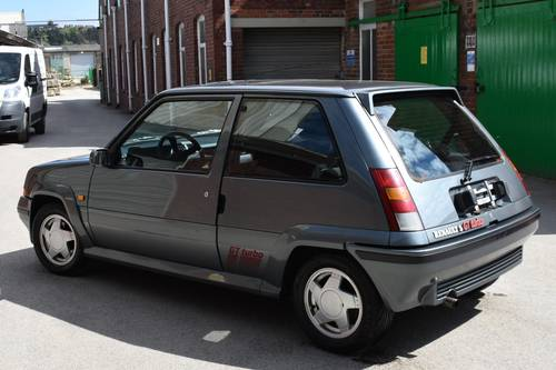 1988 Renault 5 GT 1.4 Turbo LHD For Sale (picture 4 of 6)