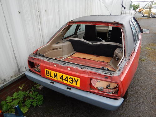 1982 Renault Fuego 1.6 GTS ~ Sold for Spares SOLD (picture 2 of 6)