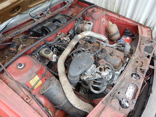 1982 Renault Fuego 1.6 GTS ~ Sold for Spares SOLD (picture 6 of 6)