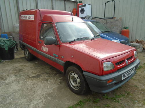 1995 RENO VAN EXTRA 1900cc DIESEL WITH POWER STEERING GOS WELL SOLD (picture 6 of 6)