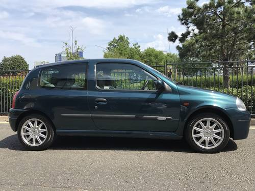 2001 IMMAC RENAULTSPORT 172 2.0 16V WITH 26,500m and 2 owners FSH For Sale (picture 1 of 6)