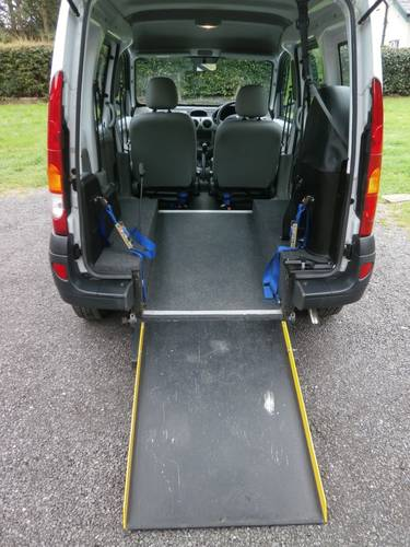 2004 '54' RENAULT KANGOO 1.2 MOBILITY WHITE JUST 8,128 MILES SOLD (picture 5 of 6)