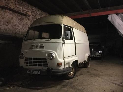1976 Renault Estafette high roof, ideal food truck For Sale (picture 1 of 6)
