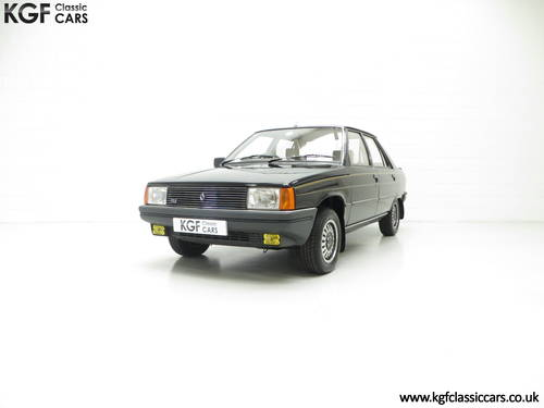 1982 A Magnifique Phase 1 Renault 9 TLE with 8,844 Miles  SOLD (picture 2 of 6)