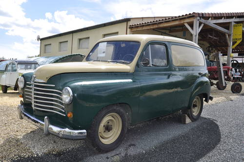 Renault Prairie Colorale 1953 SOLD by Auction (picture 1 of 6)