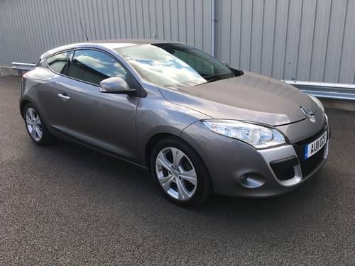 2011 RENAULT MEGANE 1.5 DCI DIESEL DYNAMIQUE 110 BHP COUPE SOLD (picture 1 of 6)