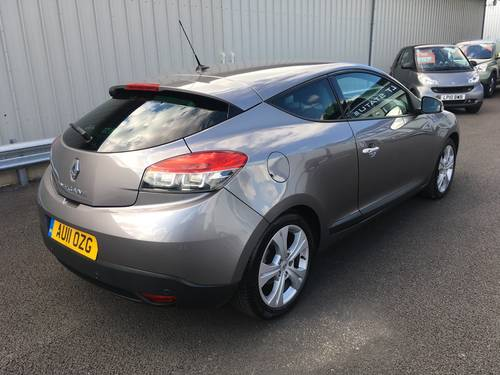 2011 RENAULT MEGANE 1.5 DCI DIESEL DYNAMIQUE 110 BHP COUPE SOLD (picture 3 of 6)