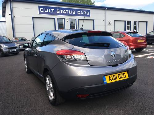 2011 RENAULT MEGANE 1.5 DCI DIESEL DYNAMIQUE 110 BHP COUPE SOLD (picture 4 of 6)