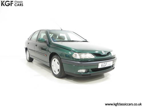 A Renault Laguna 2.0S RTi 16v with One Owner and 45109 Miles SOLD (picture 1 of 6)
