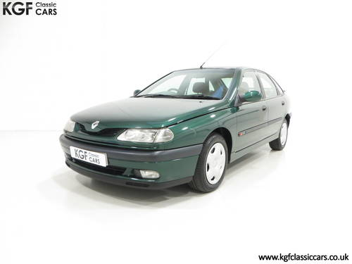 A Renault Laguna 2.0S RTi 16v with One Owner and 45109 Miles SOLD (picture 2 of 6)