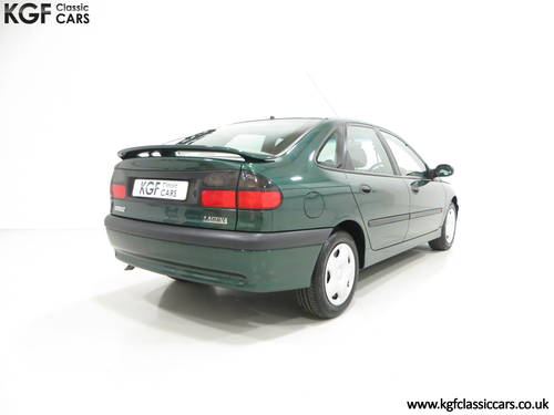 A Renault Laguna 2.0S RTi 16v with One Owner and 45109 Miles SOLD (picture 5 of 6)