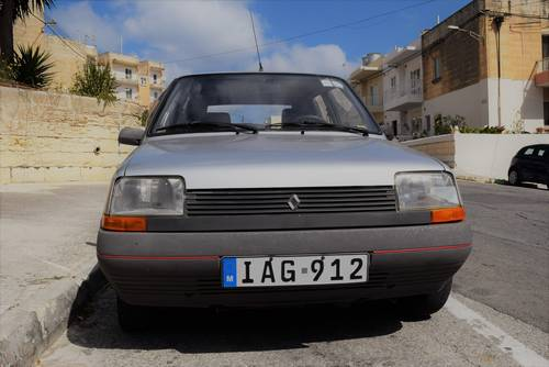 1986 Renault 5 GTL (Supercinq rare model) For Sale (picture 1 of 6)