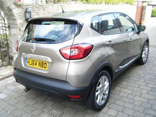 2014 (64) RENAULT CAPTUR DCI MKII.5 DIESEL ENERGY DYNAMIQUE  SOLD (picture 6 of 6)