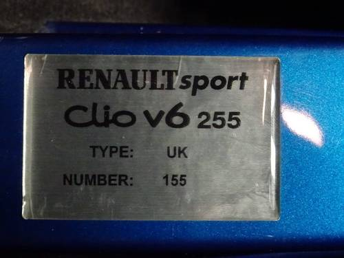 2004 Renault Clio 3.0 V6 Sport 3dr 6 SPD PHASE II FACE LIFT For Sale (picture 6 of 6)