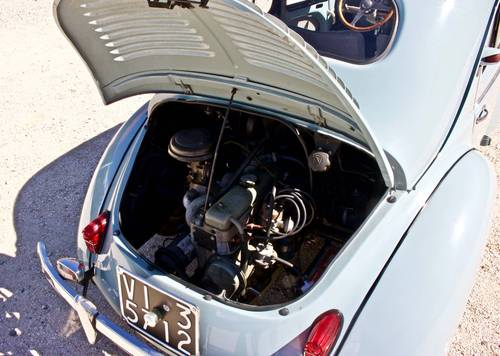 RENAULT 4CV -SPORT- 1957 MMElegibile  For Sale (picture 6 of 6)